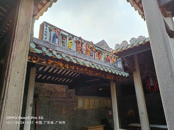 黄埔古港周末健走,去了之前没看过的北帝庙和古港码头
